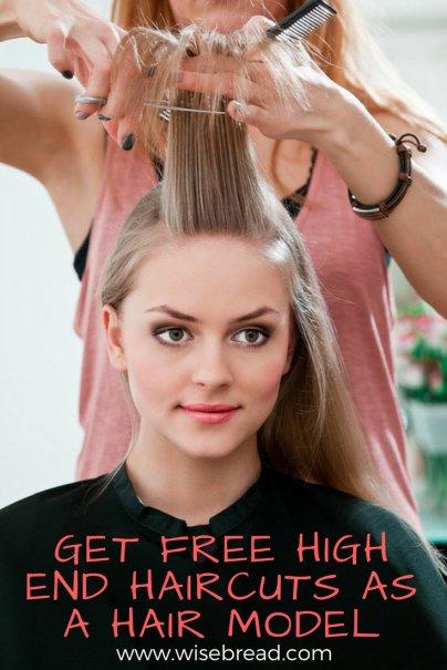 Get Free High-End Haircuts as a Hair Model