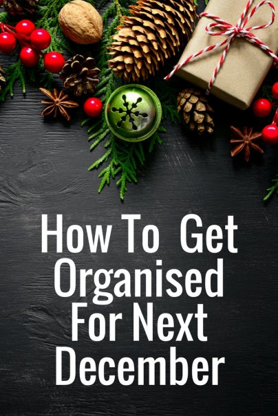 Get Organized for Next December Now: Holiday Take-Down Tips