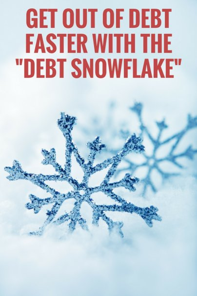 "Get Out of Debt Faster With the ""Debt Snowflake"""