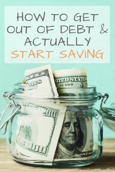 Get Out of Debt First, Then Focus on Saving