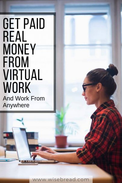 Get Paid Real Money From Virtual Work