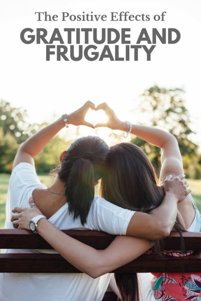 Gratitude and Frugality