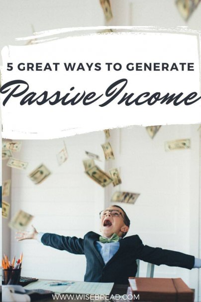 Want some passive income ideas to make some extra cash? Here are some great ways to generate passive income. | #makemoney #sidehustle #passiveincome