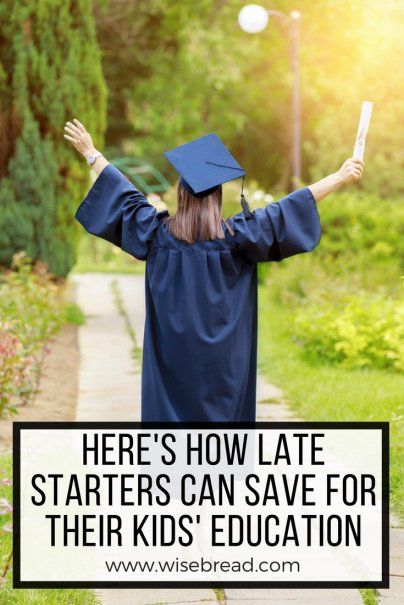 Here's How Late Starters Can Save for Their Kids' Education
