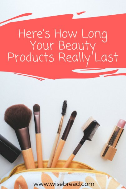 Here's How Long Your Beauty Products Really Last