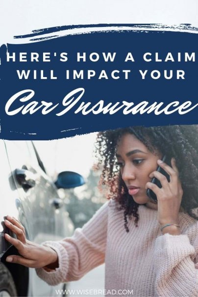 Making a claim can cause your insurance rates to rise. How much your policy's rate rises depends on a host of factors. | #insurances #personalfinances #carinsurance