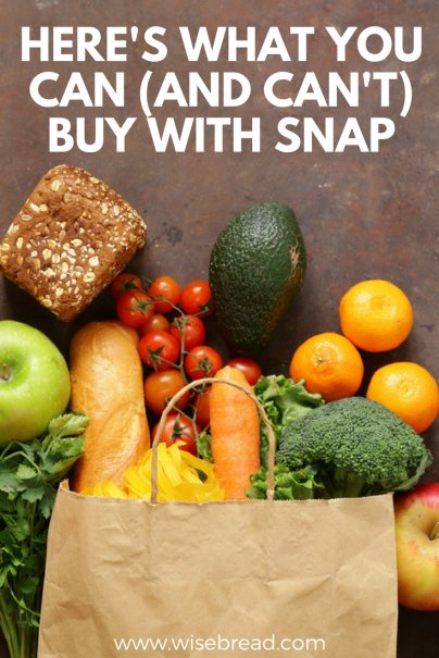Here's What You Can (And Can't) Buy With SNAP