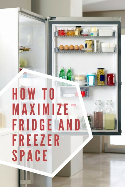 Here's How You Maximize Fridge and Freezer Space