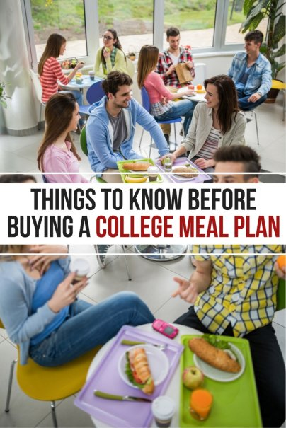 Here's What You Need to Know Before Buying a College Meal Plan