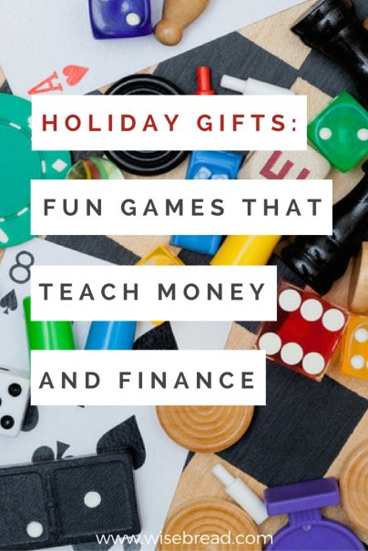 Holiday Gifts: 6 Fun Games That Teach Money and Finance
