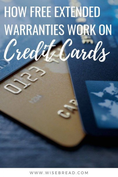 Many credit cards include some form of extended warranty coverage that you can use instead of purchasing an additional policy when you purchase appliances or electronics. Check how it works with our tips. | #creditcards #moneyhacks #personalfinance
