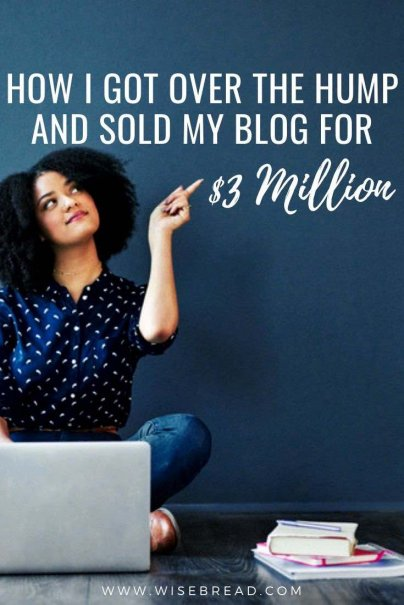 Do you have a blog and wondering whether you can sell it for money? Here's how this person was able to sell their blog for $3million! | #blogging #blogger #blog