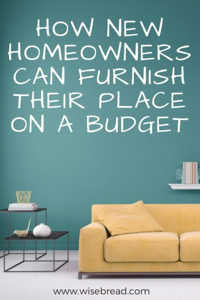 How New Homeowners Can Furnish Their Place on a Budget