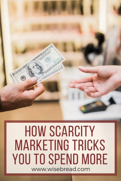 How Scarcity Marketing Tricks You to Spend More