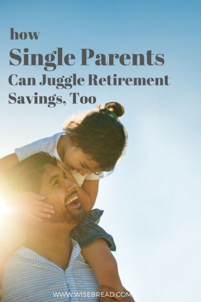 Here are five moves single parents should make today to prepare for their future retirement. | #singleparents #finances #moneymatters
