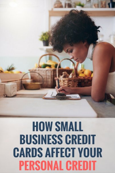How Small Business Credit Cards Affect Your Personal Credit