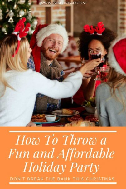 Time for Christmas parties to start coming out? Want to plan one thats cheap, frugal, fun and easy? We've got tips and ideas for you! From DIY decoration ideas, to budget ways to feed guests, and free entertainment ideas! | #frugalchristmas #cheapparty #DIY