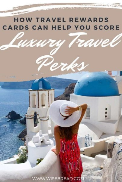 Travel rewards cards can do a lot more than make travel free; they can make it more luxurious, more comfortable, and a lot more fun. Here's how to score some luxury travel perks. | #travel #travelhacks #rewardscards