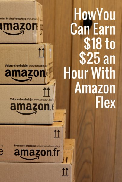 How You Can Earn $18 to $25 an Hour With Amazon Flex