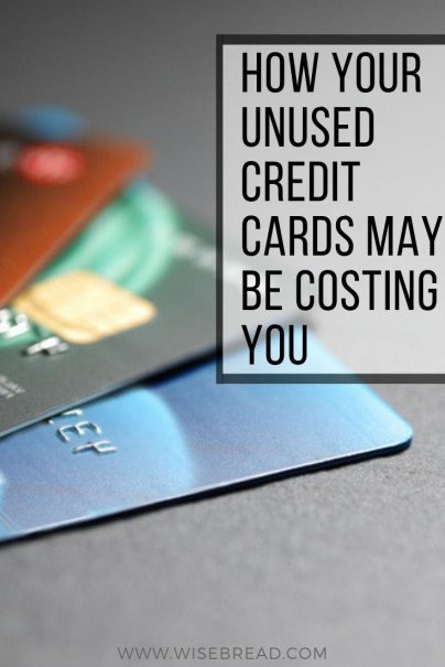 While you may think that minimizing your credit card balance is a smart financial decision, having unused credit cards can be a problem — and can impact your credit score. Find out why with our tips! | #creditcards #creditscore #financetips