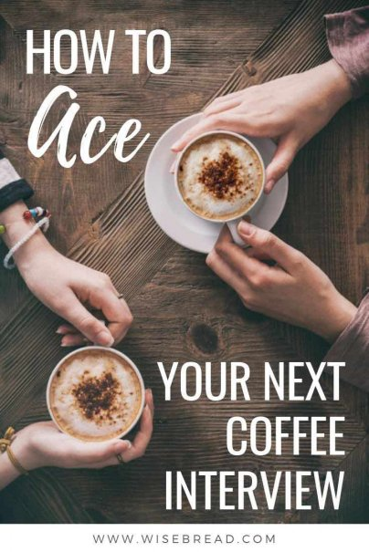 If you've got a coffee interview booked and you're stumped by such vital questions as what to wear, how to identify your interviewer, and, if it's okay to order a double skinny lactose free caramel latte, we've got the career and interview tips for you. | #careeradvice #interview #interviewtips