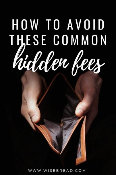 Have you ever been stung by hidden fees? Here's what you need to know about the surprise extra charges on common purchases, and how you can either plan for them or fight them. | #personalfinance #financetips #savemoney