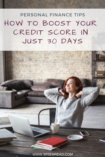 How to Boost Your Credit Score in Just 30 Days