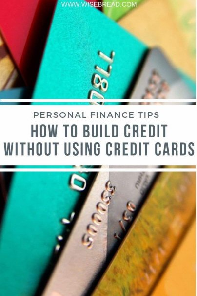 Want to build your credit but don't want to use your credit cards? We've got the tips and ideas to help you out! | #credit #creditcards #financetips
