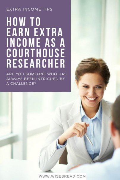 How to Earn Extra Income as a Courthouse Researcher