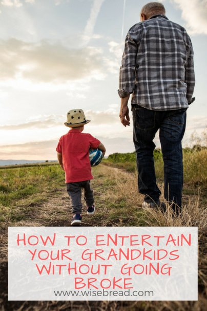 How to Entertain Your Grandkids Without Going Broke