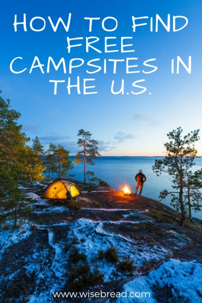 How to Find Free Campsites in the U.S.