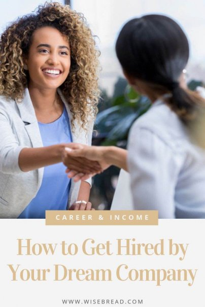 Have a dream job? We've got the tips and tricks to help you get your dream gig and switch up your job hunting technique. Using our tips, those hiring managers will be eager to extend you an offer! | #dreamjob #careeradvice #jobhunting