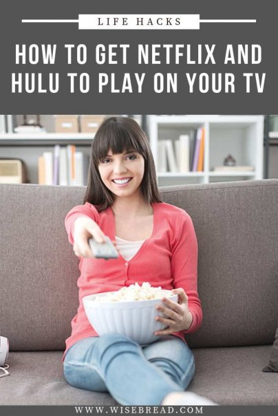 When it comes to services like Hulu and Netfix, you don't need to watch it on your tablet or computer, you can connect it your tv! We will walk your through how to get Netflix and Hulu to play on your tv. | #netflix #streamingmovies #hulu