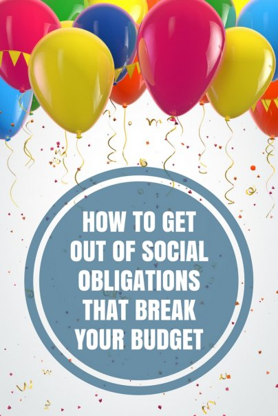 How to Get Out of Social Obligations That Break Your Budget
