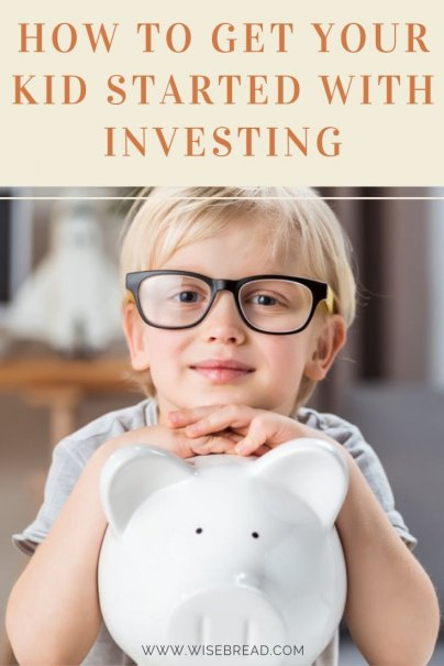 Want to know how to get your kid started with investing? It's a great way to help your children make money for the future. For personal finance tips here's how to show your kid the basics of investing! | #investing #personalfinance #moneymatters