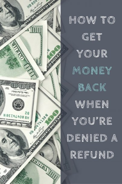 refund money back