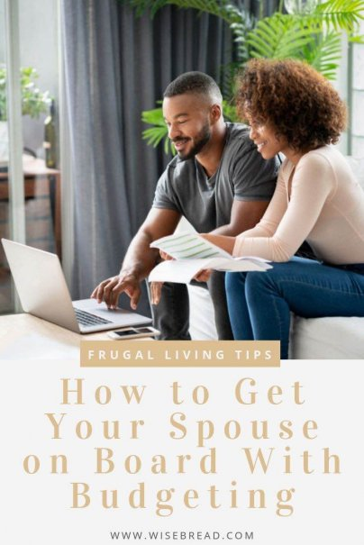 Want you and your partner to start saving money? We've got the tips for couple budgeting! Here's how to get your spouse on board to the necessities of budgeting if they're reluctant to try it. | #personalfinance #budgeting #savemoney