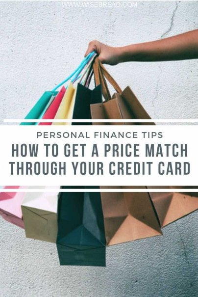 If you bought something with a credit card, your card might have its own price protection. Here's how get a price match through your credit card and start saving money! | #creditcard #moneysaving #financetips