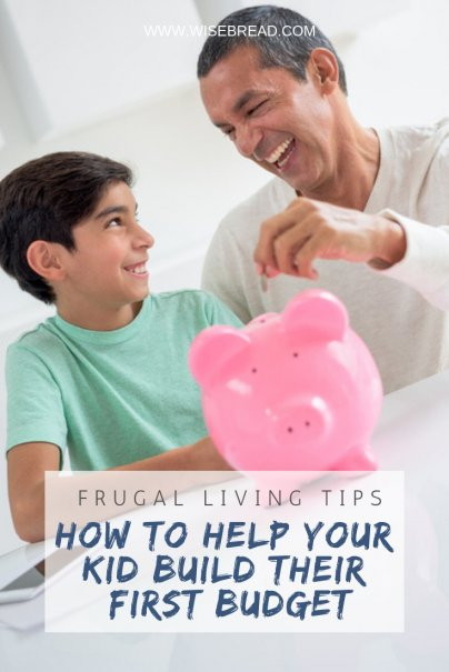 How to Help Your Kid Build Their First Budget