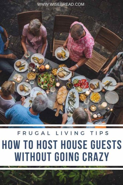 Got houseguests coming? From preparing for them, to during their stay, dealing with problems and more, we've got the tips on how to survive them without going crazy. | #houseguests #househacks #lifehacks
