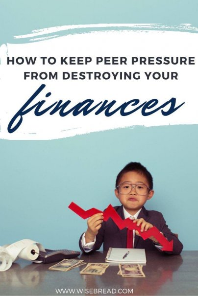 Do your friends influence your spending habits? Here's how not to give in to financial peer pressure. | #finances #moneytips #personalfinance