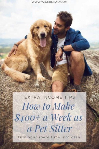 How to Make $400+ a Week as a Pet Sitter