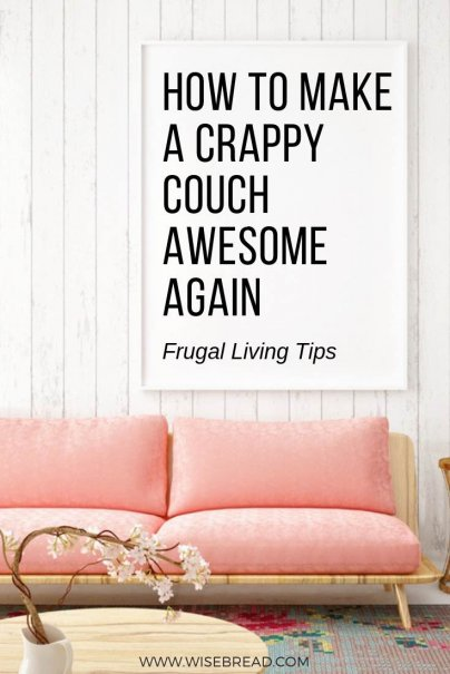 How to Make a Crappy Couch Awesome Again