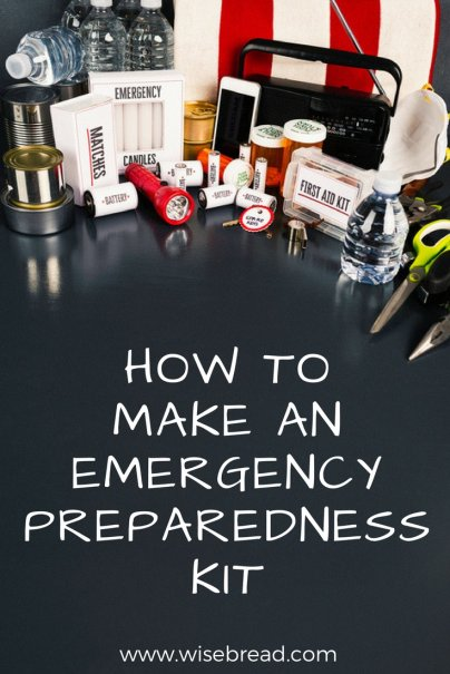 How to Make an Emergency Preparedness Kit