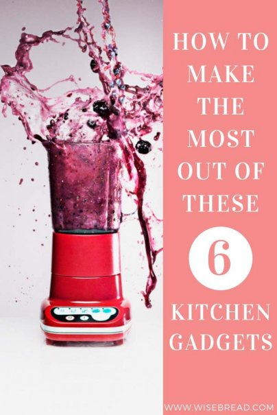 Want to know which kitchen gadgets you must have! Whether you are leading a frugal or minimalist life, or just want to cut down on your appliances, these are the 6 useful kitchen appliances to own! | #kitchengadgets #kitchenhacks #frugalliving