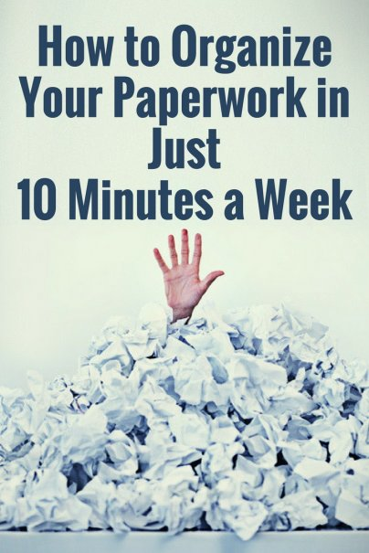 How to Organize Your Paperwork in Just 10 Minutes a Week
