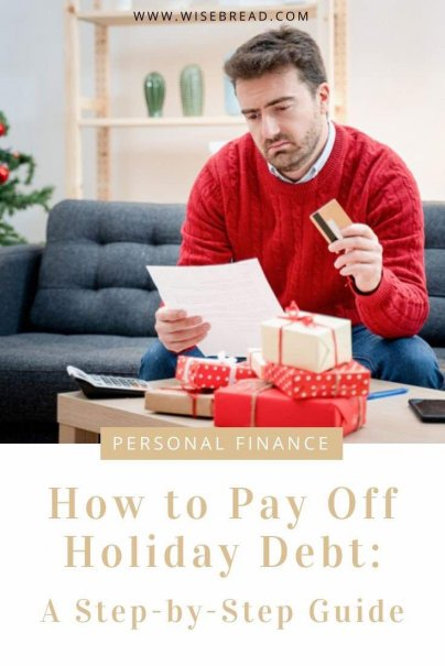 If you're in debt from the holidays and want to pay it off, you should consider consolidating and creating a plan to get out of debt once and for all. Here are the financial tips you need. | #finance #moneytips #debt
