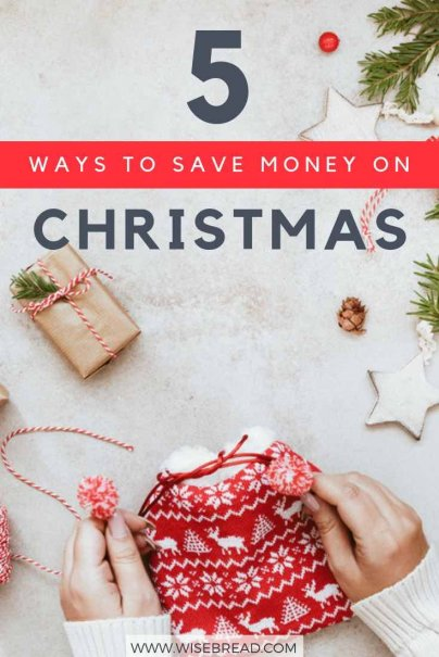 Want to stay away from debt, and save money this christmas festive season? We've got 5 tips and ideas for you, from DIY crafts, to shopping hacks, see our guide on what you can do | #savemoney #moneymatters #christmas #holidays