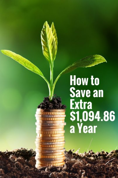 How to Save an Extra 1094 Dollars a Year