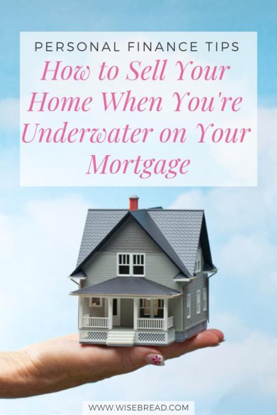 It's no fun selling a home when you're underwater on your mortgage. If you're in this situation, the odds are high that you'll have to write a check to your lender once your home sale closes. Here's our best tips and advice for this tricky situation. | #debtmanagement #realestate #morgage